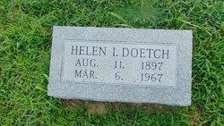 Helen Idelle <I>Brown</I> Doetch