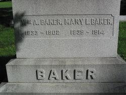 Mary Hannah <I>Lamson</I> Baker
