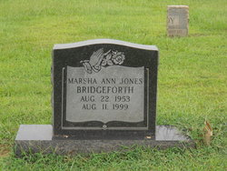 Marsha Ann <I>Jones</I> Bridgeforth