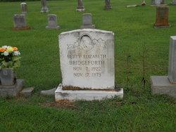 Betty Elizabeth <I>White</I> Bridgeforth