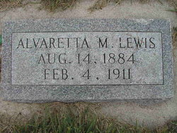 Alvaretta <I>Merrill</I> Lewis
