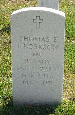 Thomas E Finderson