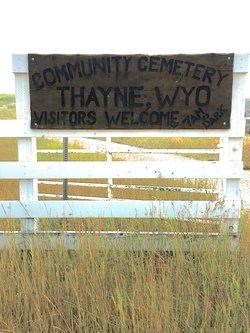 Thayne Cemetery