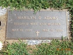 Marilyn D. <I>Krumenacker</I> Adams
