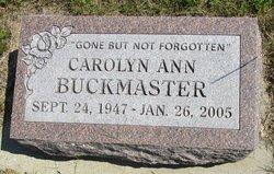 Carolyn Ann Buckmaster