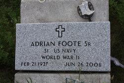 "Adrian ""Shigaga-edeh-sh"" Foote, Sr"