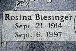 Rosina <I>Biesinger</I> Bouck
