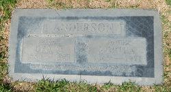 Martha <I>Parker</I> Anderson