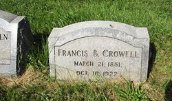 Francis Baker Crowell