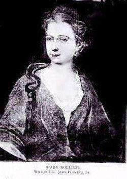 Mary <I>Bolling</I> Fleming