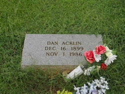 Dan Acklin