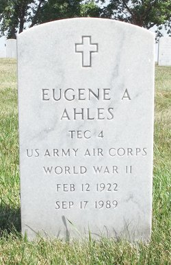 Eugene Anthony Ahles