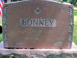 Margaret <I>Cole</I> Bonney