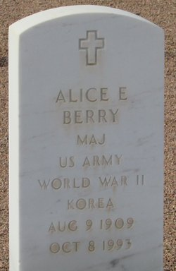 Alice E Berry
