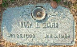 Rosa L <I>Cary</I> Chafin