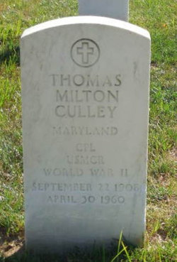 Thomas Milton Culley