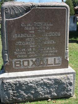 Isabella <I>Geddes</I> Boxall