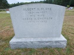Grace A <I>Emerson</I> Blake