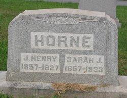 Sara Jane <I>Wertz</I> Horne