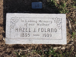 Hazel Josephine <I>Heft</I> Foland