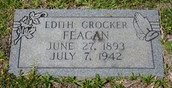 Edith <I>Crocker</I> Feagan