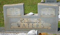 "Hettie Pauline ""Polly"" <I>Cousins</I> Waters"