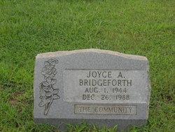 Joyce A Bridgeforth