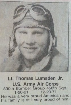 Lieut Thomas Lumsden, Jr