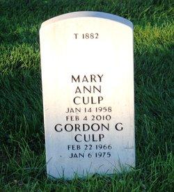 Gordon G Culp
