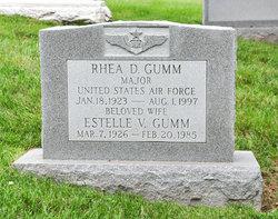 Maj Rhea D. Gumm