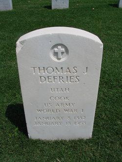 Thomas J Defries