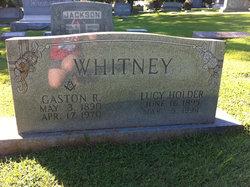 Lucy Nell <I>Holder</I> Whitney
