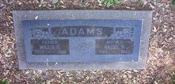Hazel Vera <I>Browning</I> Adams