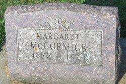Margaret <I>Connor</I> McCormick