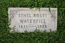 Ethel Virginia <I>Routt</I> Waterfill