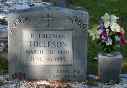 R Freeman Tolleson
