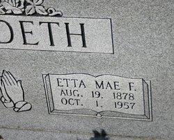 Etta Mae F Suddeth