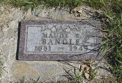 Ethel Maude <I>Fletcher</I> Bangle