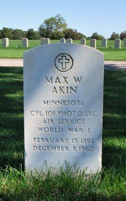 Max W Akin