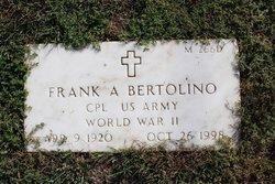 Frank A Bertolino