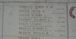 Sgt Harry W Foreman, Jr