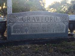 """Allie John """"Sallie"""" <I>Redus</I> Crawford"""