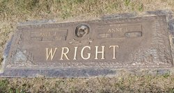 Anne Louise <I>Carter</I> Wright