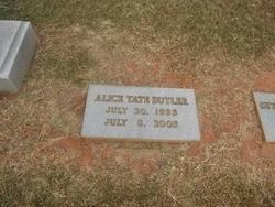 Alice <I>Tate</I> Butler