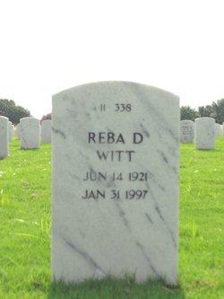 Reba D Witt