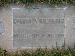 Evelyn A. <I>Reed</I> Ricketts