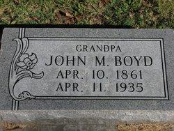 John M Boyd
