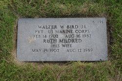 Walter W Bird, Jr