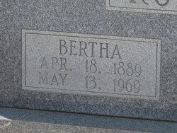 Bertha Jane <I>Brown</I> Roberts
