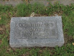 Dorothy Ann <I>Bonham</I> Boyd